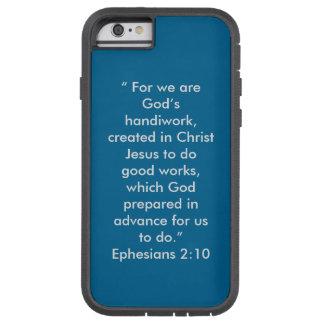 """Die Handarbeit des Gottes"" Iphone 6/6S starker Tough Xtreme iPhone 6 Hülle"