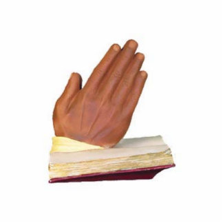 Die Hände die beten Photo Skulptur