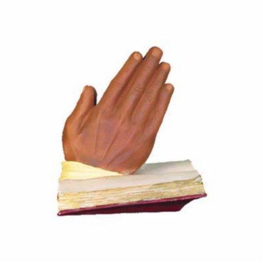 Die Hände, die beten Photo Skulptur