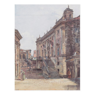 Die Hauptstadt in Rom durch Rudolf von Alt Postkarten