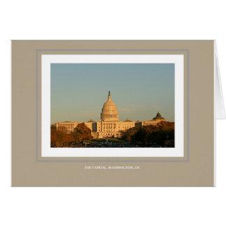 Die Hauptstadt, Washington, DC Karte