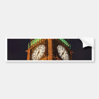 Die Häuser des ParlamentsGlockenturms, Westminster Autoaufkleber