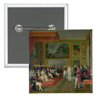 Die Heirat von Eugene de Beauharnais Quadratischer Button 5,1 Cm