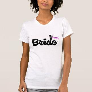 Die Henne-Party-T-Shirt der Braut T-Shirt