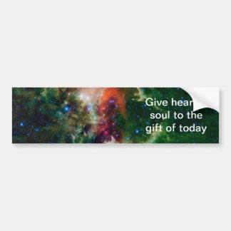 Die Herz-und Soul-Nebelfleck NASA Autoaufkleber