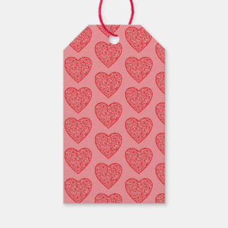 Die Herzen des Valentinsgrußes Geschenkanhänger