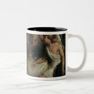 Die Hochzeit von Alexander der Große und von Roxan Kaffee Haferl