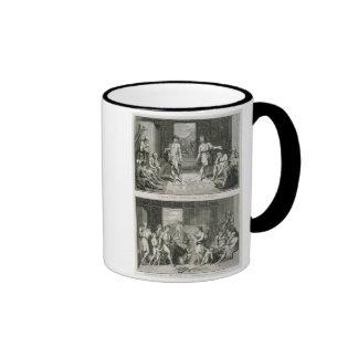 Die Hochzeits-Zeremonie und die Art der Scheidung  Teehaferl