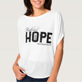 Die HOFFNUNG flüssige T der Frauen T-Shirt