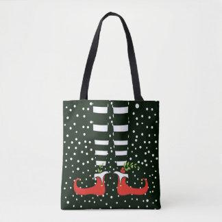 Die hohe Elf-WeihnachtsTaschen-Tasche Tasche