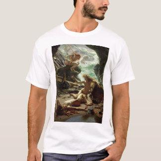 Die Höhle des Sturms Nymphs, 1903 (Öl auf T-Shirt