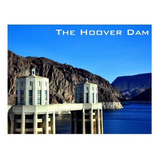 Die Hooverdamms-Postkarte Postkarte