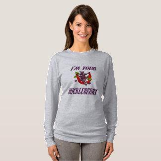 Die Hufeisen-grundlegender langer Hülsen-T - Shirt