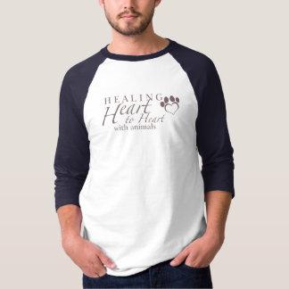 Die Hülsen-Baseball-T-Stück der Männer 3/4 T-Shirt