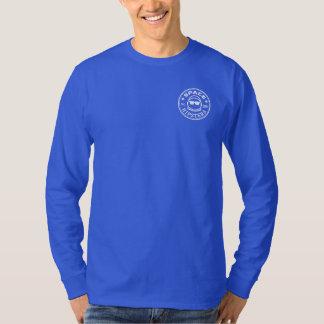 Die Hülsen-Logo-Shirt der Raum-Hipster-Männer T-Shirt