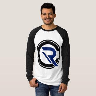 Die Hülsen-Schwarzesraglan-T - Shirt