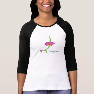 (die Hülsen-Shirt der Frauen der Pfau-Lage-II) 3/4 T-Shirt