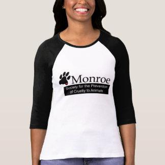 Die Hülsen-T - Shirt Frauen Monroes SPCA 3/4