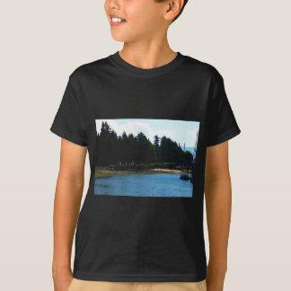 Die Insel-Hafen des toten Mannes T-Shirt
