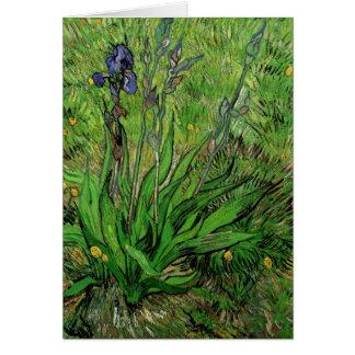 Die Iris durch Vincent van Gogh Karte