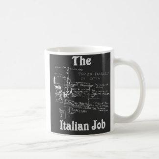 Die italienische Job-Karten-Tasse Tasse