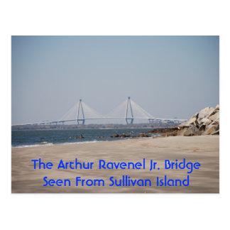 Die jr.-Brücke Arthur-Ravenel Postkarte
