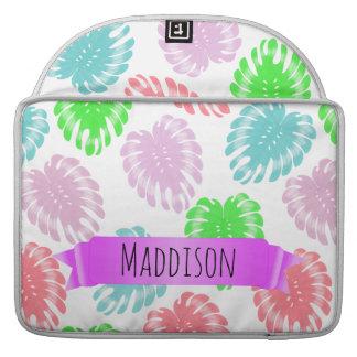 Die jugendlich Mädchen-personalisiertes MacBook Pro Sleeve