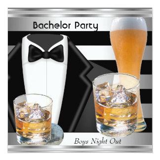 Die Jungen-Nacht der Junggeselle-Party-Männer Karte