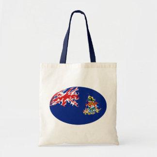 Die Kaimaninseln-Gnarly Flaggen-Tasche