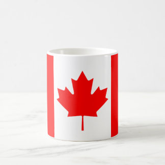 Die kanadische Flagge, Kanada Kaffeetasse