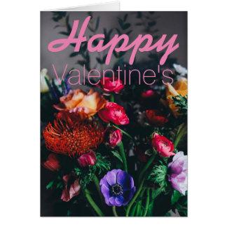 Die Karte des glücklichen Valentinsgrußes