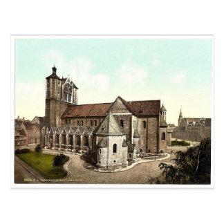 Die Kathedrale, Brunswick (d.h. Braunschweig), Postkarte