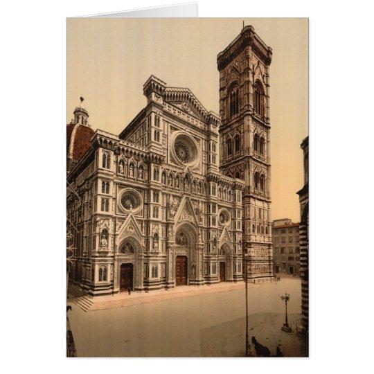 Die Kathedrale und der Glockenturm, Florenz Karte