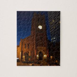 Die Kathedralen-Puzzle der alten Heiligen Maria