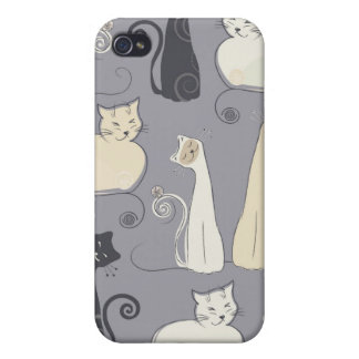 Die Katzen iPhone 4/4S Hüllen