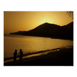 Die Kindheits-Erinnerungen eines Sonnenuntergangs Poster