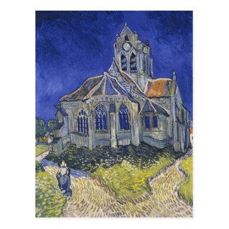 Die Kirche in Auvers durch Vincent van Gogh Postkarte