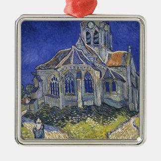 Die Kirche in Auvers durch Vincent van Gogh Silbernes Ornament