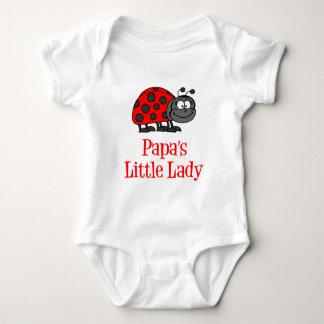 Die kleine Dame des Papas Baby Strampler