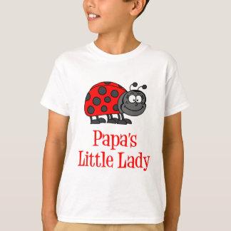 Die kleine Dame des Papas T-Shirt
