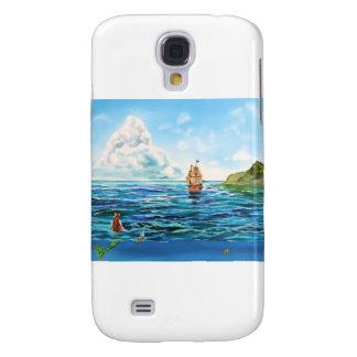 Die kleine Meerjungfrau-Meerblickmalerei Galaxy S4 Hülle