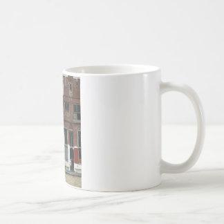 Die kleine Straße durch Johannes Vermeer Kaffeetasse
