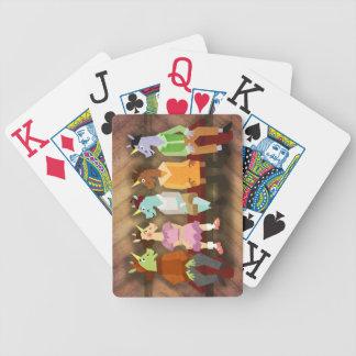 Die kleinen Gauner-Einhörner Spielkarten