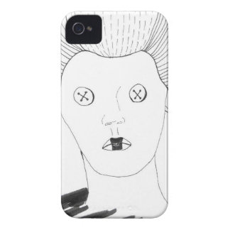 Die Knopf-Königin iPhone 4 Case-Mate Hüllen
