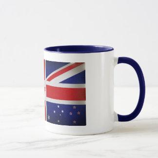 Die Kolonien-Flaggen-Tasse Tasse