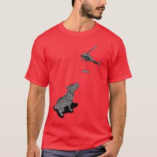 Die komplette HundeLeckerei-Luftbrücke durch T-Shirt