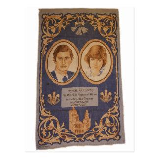 Die königliche Hochzeit: Postkarte