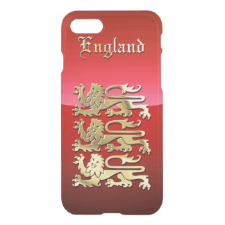 Die königlichen Arme von England iPhone 8/7 Hülle