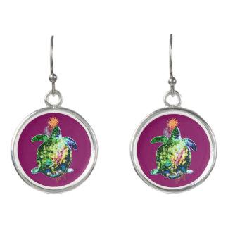 Die kosmische Farbe Bringer Ohrringe