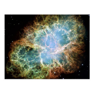 Die Krabben-Nebelfleck-Supernova NASA Postkarte
